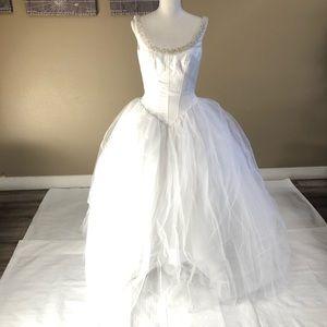 Pallas Athena White Wedding Dress